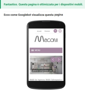 Maconi website is mobile friendly