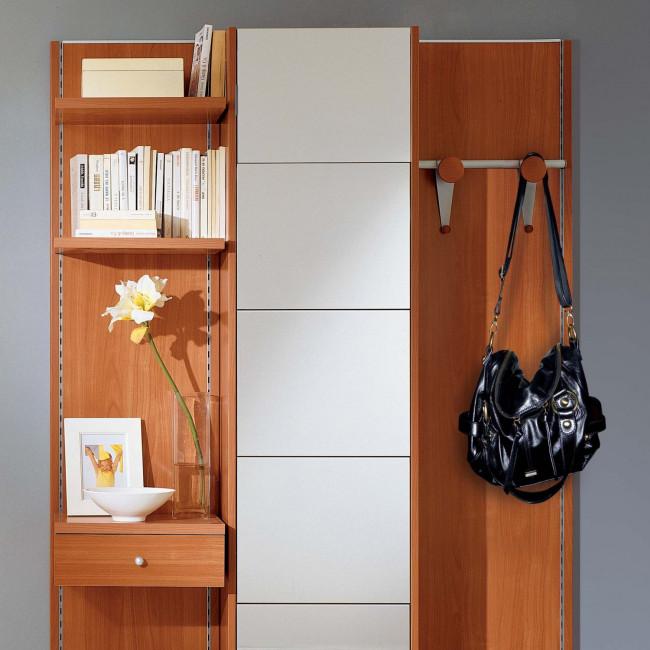 Mobile ingresso in legno e specchio astor a17 - Grancasa mobili ...