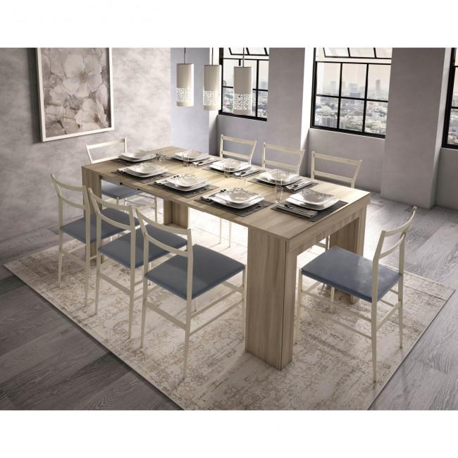 Consolle che diventa tavolo easy - Tavolino che diventa tavolo da pranzo ...