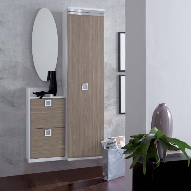Ingresso con armadietto contenitore family f15 - Mobiletto ingresso moderno ...