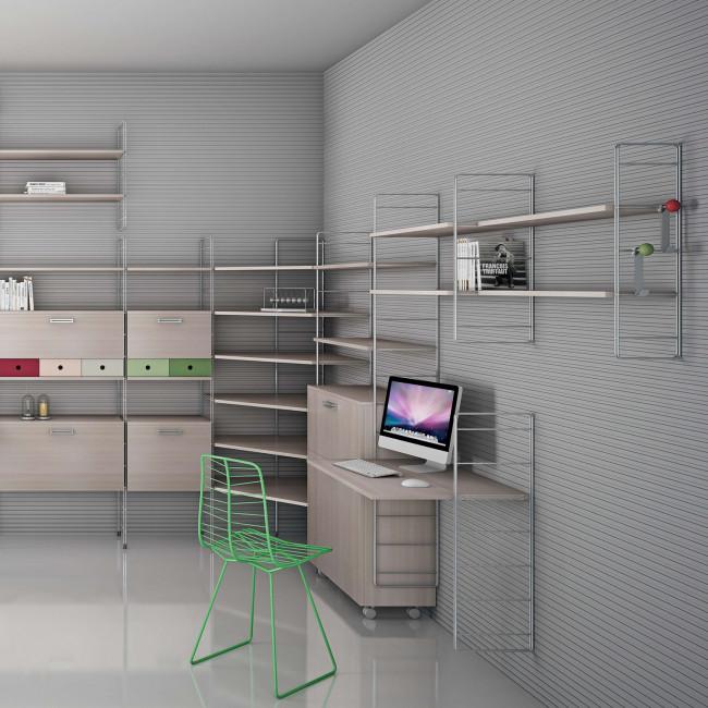 Librerie In Metallo Scaffali.Scaffale Modulare In Metallo Link Free