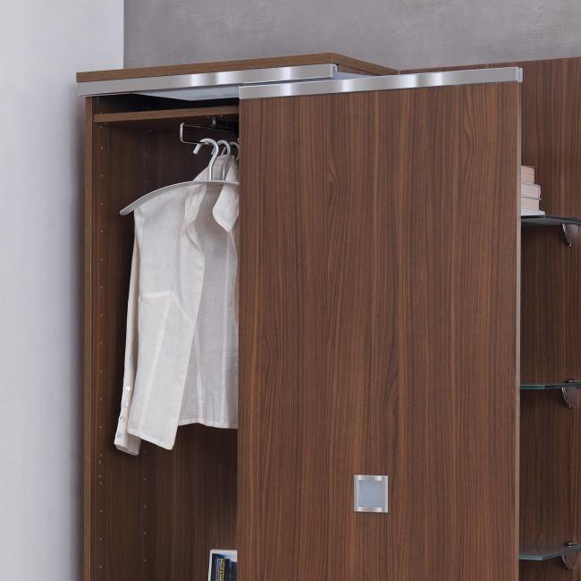 Mobile ingresso con armadio scarpiera family f11 - Mobile da ingresso con appendiabiti ...