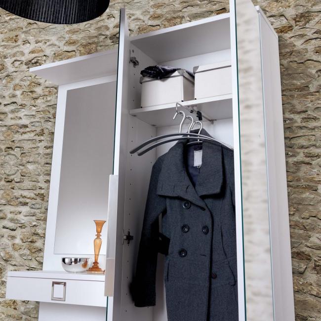 Mobile ingresso con armadio family f09 - Mobile appendiabiti ingresso ...