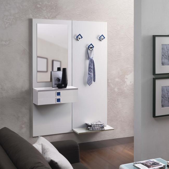 Mobile appendiabiti ingresso family f04 - Specchio ovale ikea ...