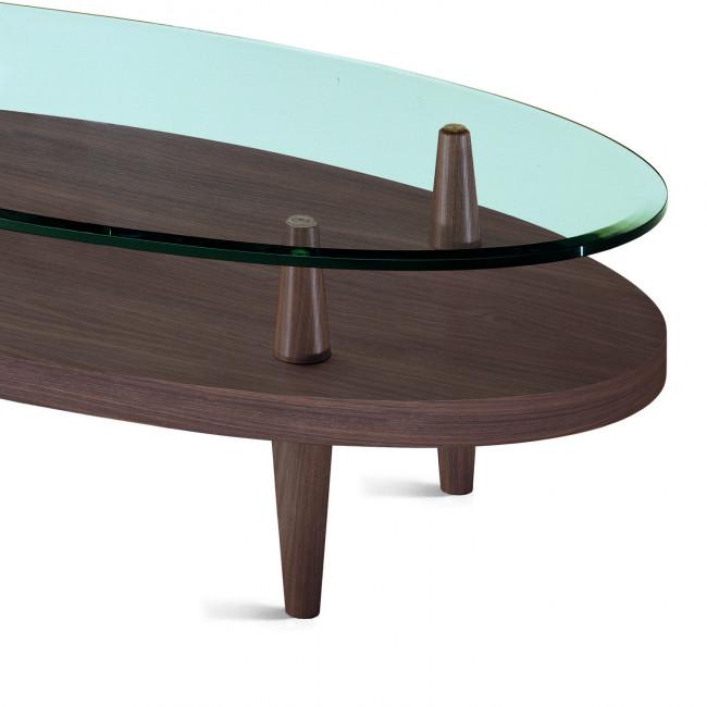 Tavolini Da Salotto Ovali In Legno.Tavolino Da Salotto Ovale Uovo Wood