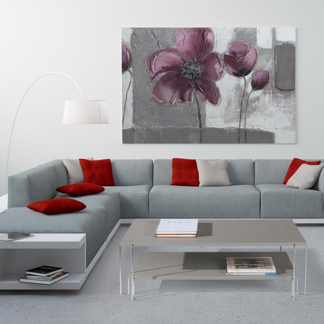 Supporto tv design for Tavolino salotto moderno vetro design bianco ovale