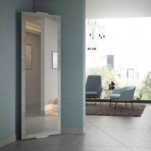 Specchio angolare da ingresso girevole, Twister nasconde 4 ganci appendiabiti sul retro