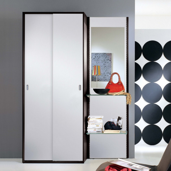 Astor A14 hallway coat storage (dark oak finish out of production)