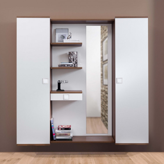 Family F06 hallway furniture with cabinets