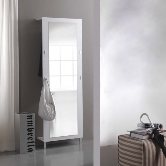 Evolution E01 white full length mirror
