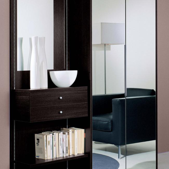 Astor a20 hallway wardrobe with mirrored doors for Arredo ingresso design