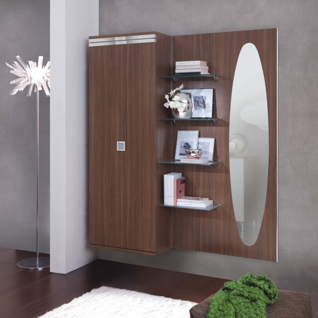 Family F11 Entrance Hall Furniture With Shoe Rack