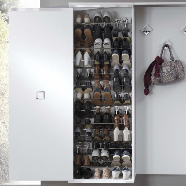 Mobile Scarpiera Con Ante.Evolution Sliding Shoe Wardrobe