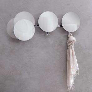 Lady Round hallway mirrors with hooks