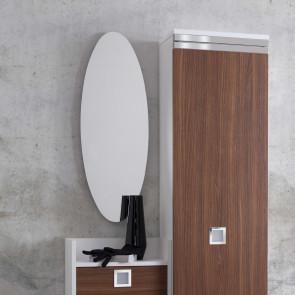 Family Oval wall mirror
